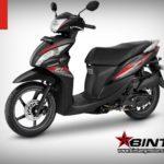 Motor Honda Spacy PGM FI Emperor Black
