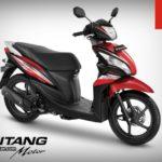 Motor Honda Spacy PGM FI Majestic Red