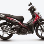 Honda Supra X 125 Helm In Hadir dengan Striping Baru ! 3