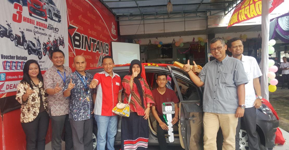 Program Banjir Hadiah Akhir Tahun, Beli Motor Dapat Mobil Hanya di Bintang Motor 1