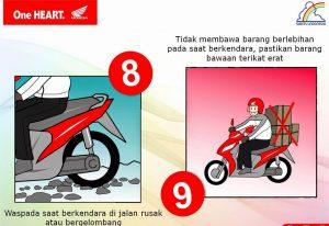 Tips Aman Berkendara Saat Mudik dengan Sepeda Motor 7