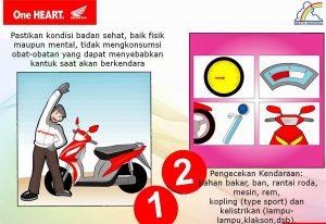 Tips Aman Berkendara Saat Mudik dengan Sepeda Motor 2