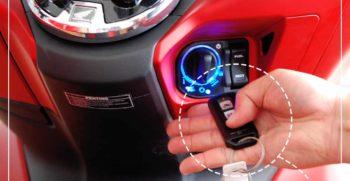 Cara penggunaan Remote Keyless motor yang Benar Agar irit baterai