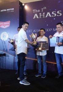 Semakin Berkualitas, Ahass Bintang Motor Raih Reward di Ahass Awards 2018 2