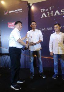 Semakin Berkualitas, Ahass Bintang Motor Raih Reward di Ahass Awards 2018 1