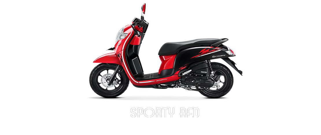 sporty red_bintangmotor-Gisting