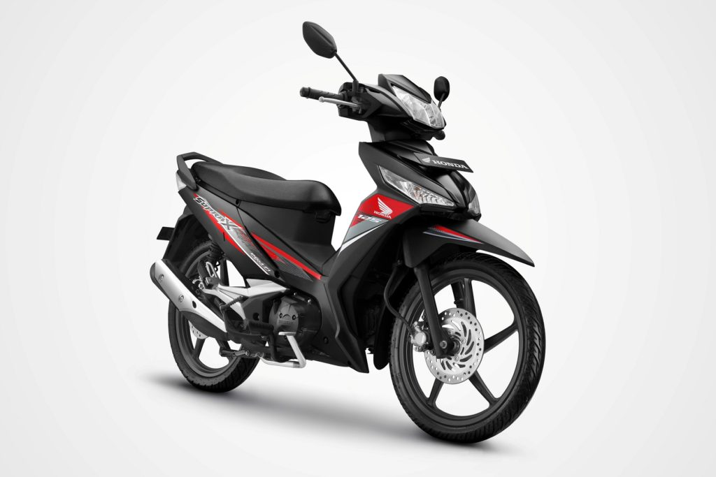Honda Supra X 125 New Black