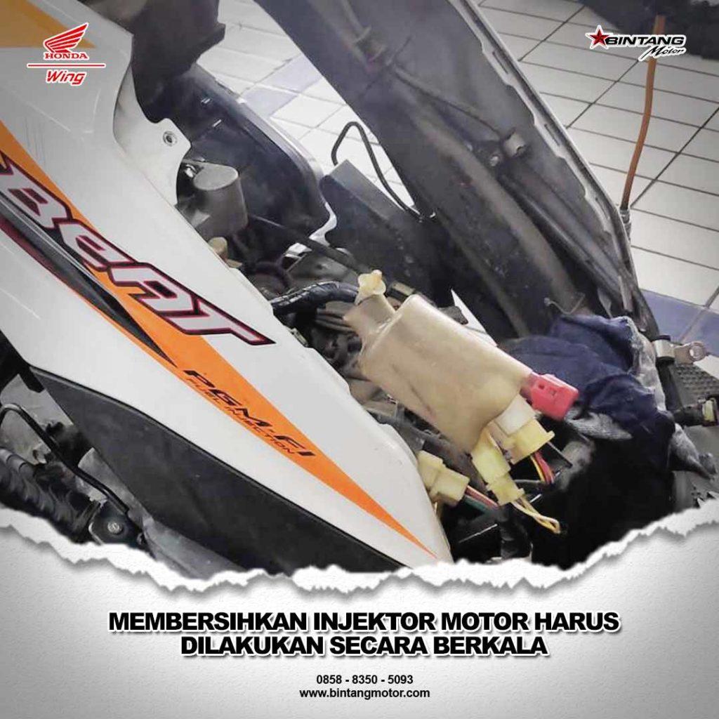 Membersihkan Injektor Motor Harus Dilakukan Secara Berkala_251019