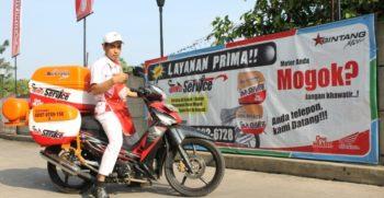 Layanan Baru Ahass Bintang Motor ! BIMO SERVICE: Servis Motor Panggilan ! 1